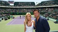 Polish-American model and actress, Joanna Krupa and her fiancee Romain Zago