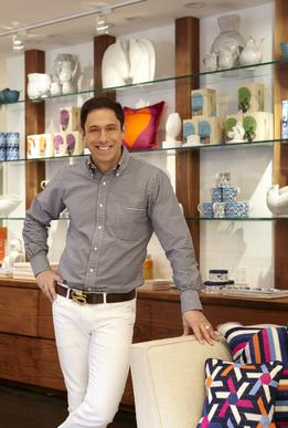 Jonathan Adler in his NYC store.