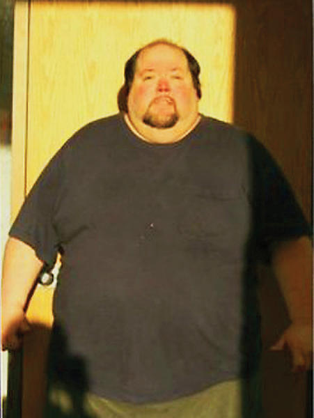 At his heaviest, Dan Hawthorne of Hagerstown tipped the scales at 600 pounds.