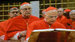Chicago's Cardinal Francis George and 114 other Roman Catholic prelates take the oath of secrecy before the conclave to elect the next pope.