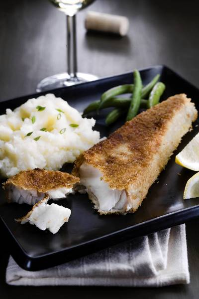 Panko-fried fish: This fish recipe is pretty straightforward and uncomplicated and allows for a wide range of wine partners.