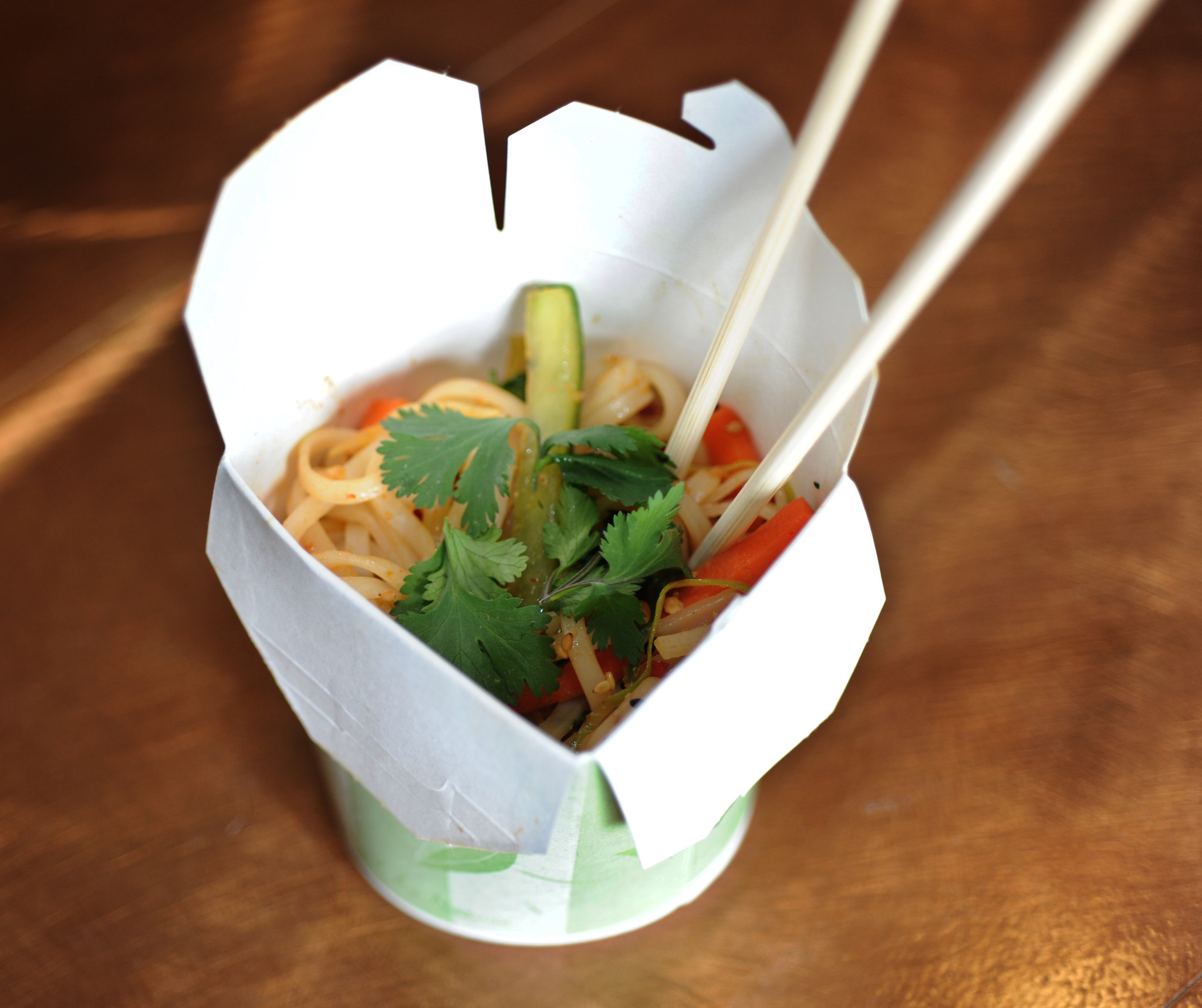 New food items at Oriole Park, and some returning favorites [Pictures] - Pad Thai cold noodle salad