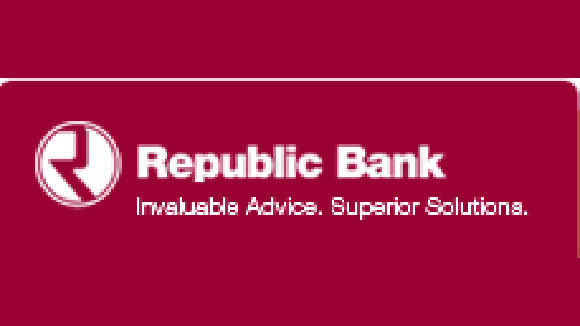 The logo for Republic Bank of Chicago.