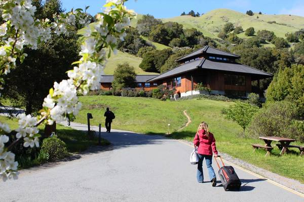 Spirit Rock Meditation Center in Woodacre, Calif., engages participants in the practice of mindfulness meditation. Sound easy? You'd probably be surprised.