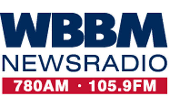 A screen grab from the Web page of WBBM radio Chicago.