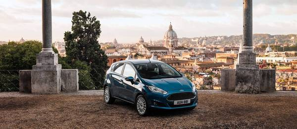 The 2014 Ford Fiesta is a turbocharged 1.0-liter, three-cylinder subcompact. Its engine will be the most efficient non-hybrid power plant in America, Ford says.