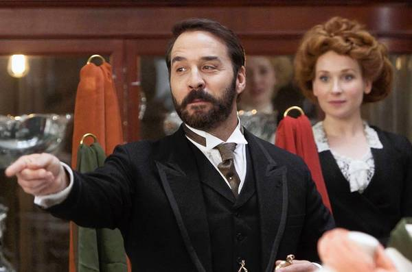 "Jeremy Piven is Harry Selfridge in ""Mr. Selfridge."""