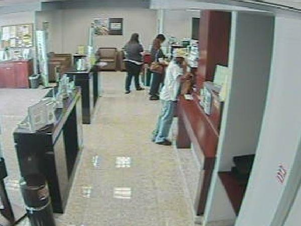 The FBI is looking for the man who robbed a Regions Bank in Coral Springs