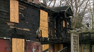Fire Destroys Newtown Home