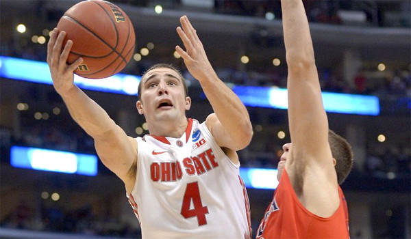 Ohio State guard Aaron Craft is averaging 10.1 points per game for the Buckeyes who will face Wichita State in the West Regional final on Saturday.