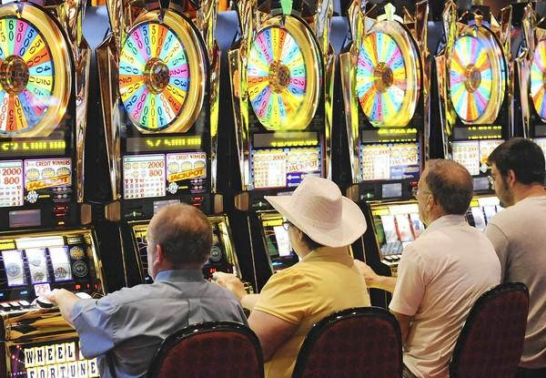 Pennsylvania's gaming growth spurt has stopped. In four of the past five months, Pennsylvania's 11 casinos have collectively reported fewer slot machine revenues than the same month the previous year. At the Sands casino in Bethlehem, above, slot revenues fell 7 percent, the first month-to-month loss.