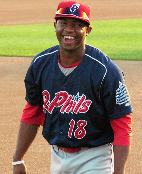 Leandro Castro is a Phillies prospect with a rating after falling out of Baseball America's rankings.
