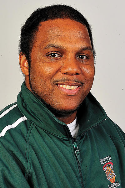 South Hagerstown's Nate Naylor is the 2012-13 Herald-Mail Washington County Girls Basketball Coach of the Year.
