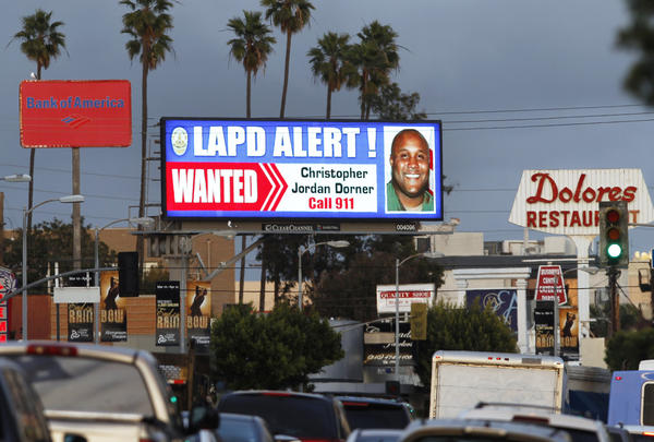 There is a dispute over whether to pay out the reward offered during the manhunt for former Los Angeles Police Officer Christopher Dorner.