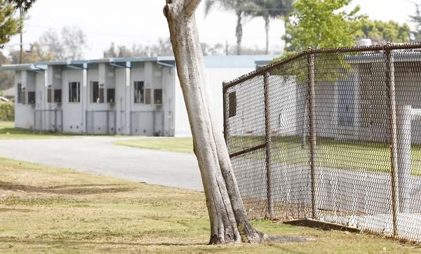 The Newport-Mesa Unified School District will consider putting a fence around the perimeter of Adams Elementary School, shown above, which currently is open on two sides and is a concern among some parents.