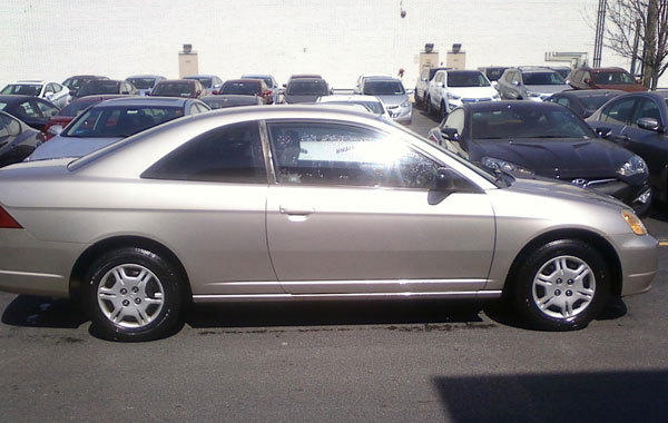 Photo of car similar to the one owned by missing man.