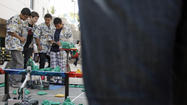 Photo Gallery: Robotics competition at GCC