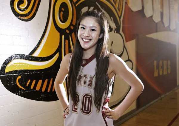 La Cañada High junior point guard Courtney Chen is the 2013 All-Area Girls' Basketball Player of the Year.
