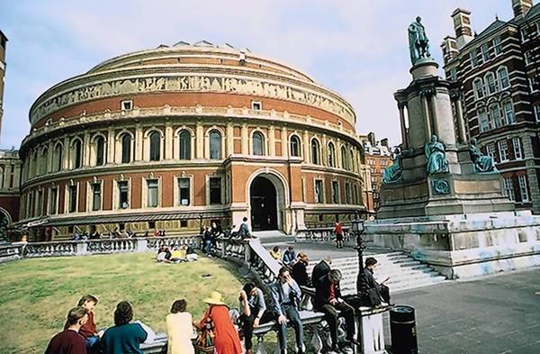London's Royal Albert Hall is one of the many sights to be seen on the London and Paris trip offered by Valley Travel Service.