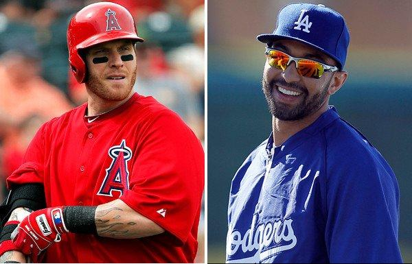 Outfielders Josh Hamilton of the Angels and Matt Kemp of the Dodgers will have plenty of pressure on them to perform since both Los Angeles teams are favorites to challenge for a spot in the World Series.