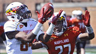 Maryland football team scrimmages at Dunbar [Pictures]