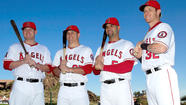 There is enough star power in the Angels lineup to illuminate the Big A message board for months, the marquee shining with three megawatt names — Mike Trout, Albert Pujols and Josh Hamilton.