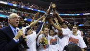 WASHINGTON, D.C. -- Syracuse junior forward C.J. Fair said he first began to follow college basketball about 10 years ago and remembers watching Carmelo Anthony, who also grew up in Baltimore, help lead the Orange to the NCAA title in 2003.