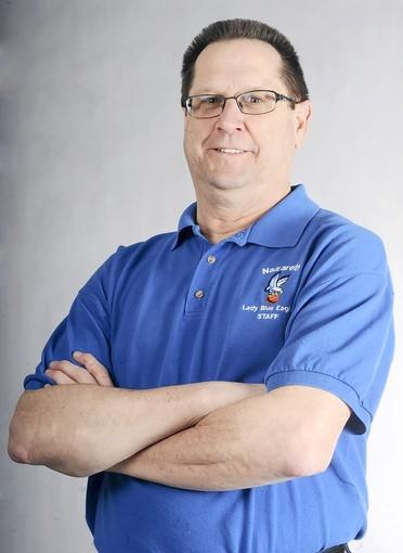 Nazareth's Rich Bickert is The Morning Call's girls basketball coach of the year.