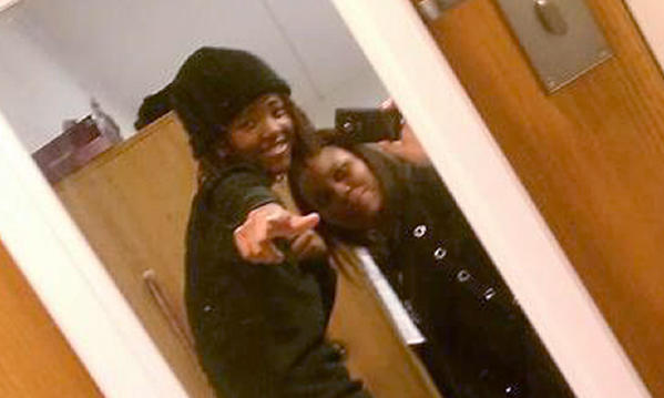 Sierra Smith took this photo of Smith and Emani Wade before the fatal car crash that killed Smith and Kimberley Brin.