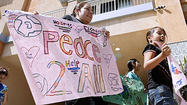 Photo Gallery: Peace walk in Pasadena