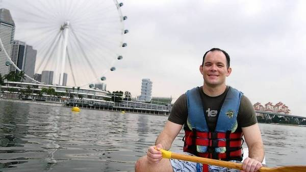 Shane Todd, shown in Singapore, had been planning to start a new job in the U.S. before his alleged suicide.