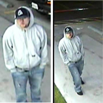 Harford police say this man is a suspect in the armed robbery of an Edgewood convenience store.