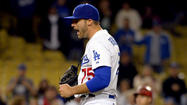 Before the game Saturday, Dodgers Manager Don Mattingly spoke glowingly of the work veteran reliever Kevin Gregg had turned in this spring.