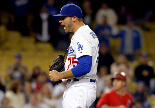 Dodgers relief pitcher Paco Rodriguez made the 25-man roster.
