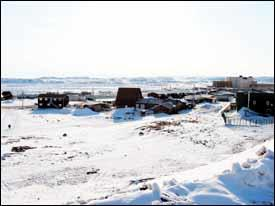 Iqaluit generally isn't a vacation destination.