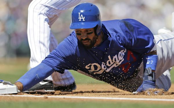 Matt Kemp has looked healthy again and ready for the season.
