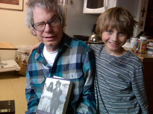 Crawdaddy magazine founder Paul Williams, shown with his son Alexander in 2010, helped establish the field of rock music criticism in the mid-1960s. He died Wednesday in Encinitas.
