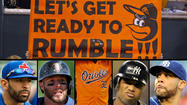 O's and their opponents prepared for a 'five-horse race' in the AL East