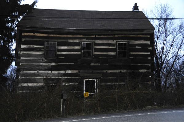 This 18th century stage coach stop along Route 30 in Stoystown caught fire Sunday morning.