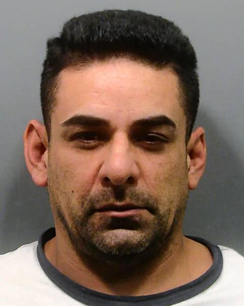 Oak Forest police booking photo of Jessie B. Rodriguez, charged in the slaying of Gina Presley, 3.