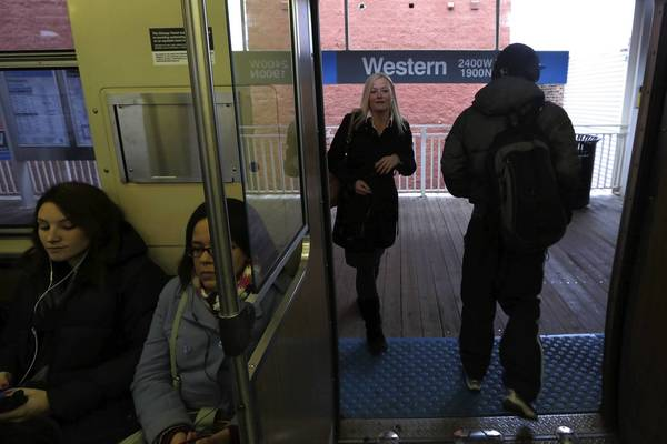 Three train runs on the Blue Line are being added during the evening to help meet heavy ridership, CTA officials said