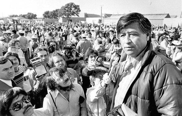 The late United Farm Workers President Cesar Chavez.