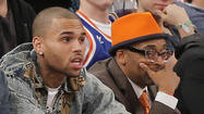 Chris Brown and Spike Lee