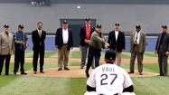 White Sox Opening Day 2001