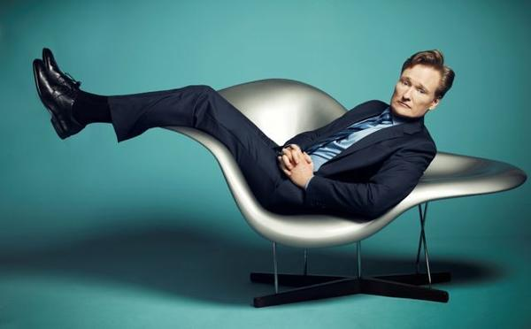 Conan O'Brien is sitting pretty over at TBS.