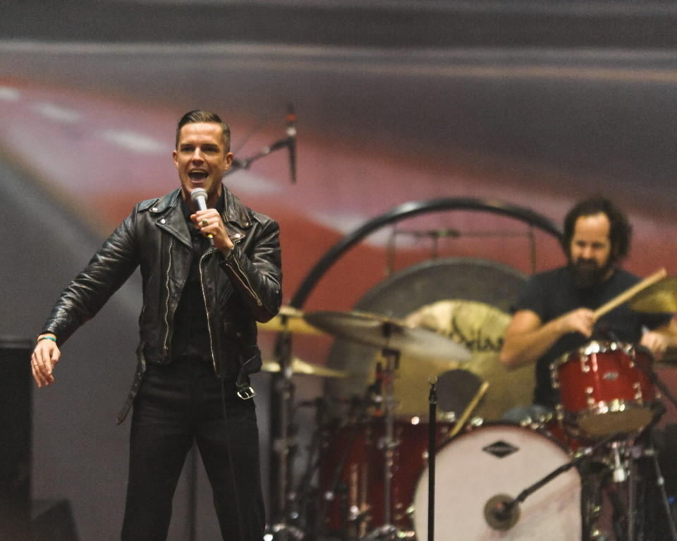The Killers will headline Friday night, Aug. 2, at Lollapalooza Music Festival in Chicago.