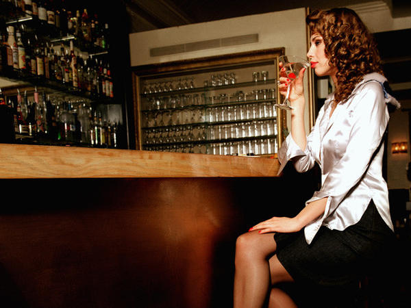 Anyone of legal drinking age should feel comfortable sitting alone at a bar.