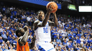 Archie Goodwin led Kentucky in scoring last season with 14 points per game.