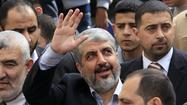 GAZA CITY — The leadership council of Hamas, the Islamist group that controls Gaza Strip, has reelected Khaled Meshaal to lead the militant organization for the next four years, a senior official with the movement said Monday.