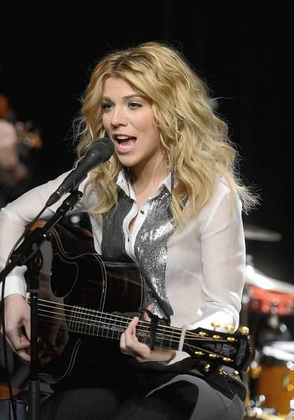 Kimberly Perry of The Band Perry plays in New York City.